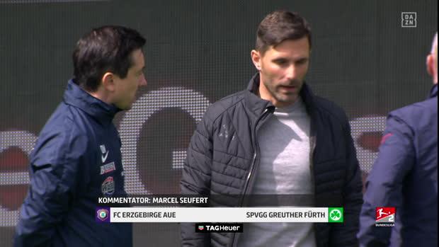 2. Bundesliga: Erzgebirge Aue - SpVgg Greuther Fürth   DAZN Highlights