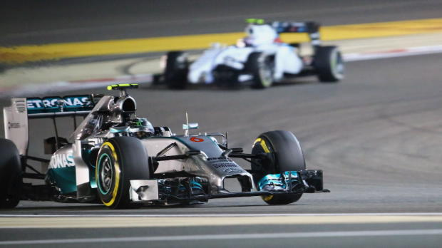 Mercedes 1-2 in Bahrain qualifying
