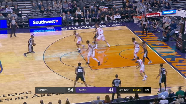 GAME RECAP: Spurs 104, Suns 101