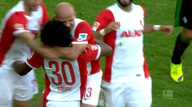 Tobias Werner (Augsburg), Jean-Eric Choupo-Moting (Schalke 04), Ronny (Hertha Berlin), Ricardo Rodriguez (Wolfsburg) et Moritz Stoppelkamp (Paderborn) sont au sommaire de ce Top Buts de la 4e journée de Bundesliga.