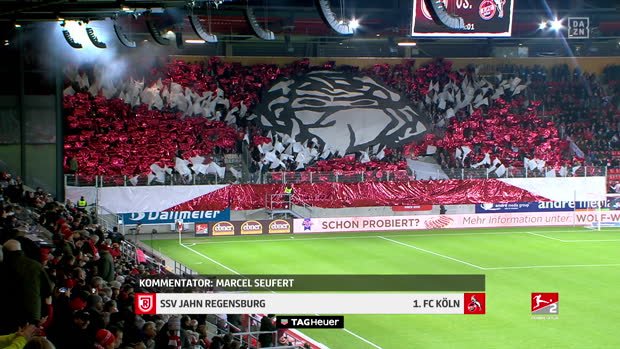 2. Bundesliga: SSV Jahn Regensburg - 1. FC Köln | DAZN Highlights