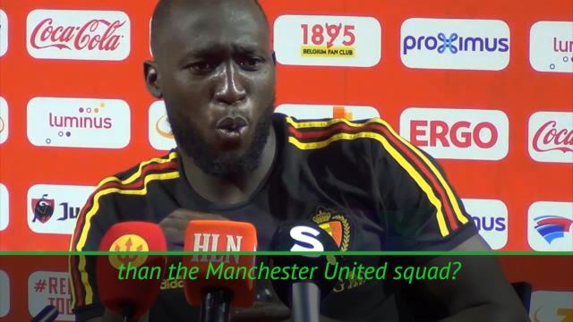 Lukaku, who's better, Man United or Belgium? Thumbnail