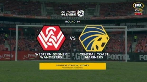 Wanderers v Mariners highlights