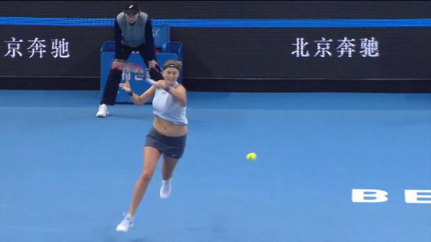 Peking: Kvitova gewinnt tschechisches Duell