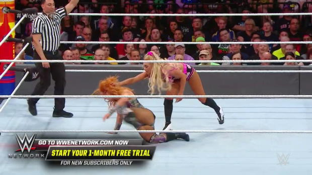 Charlotte Flair takes charge against Becky Lynch and Carmella: SummerSlam 2018 (WWE Network Exclusive)