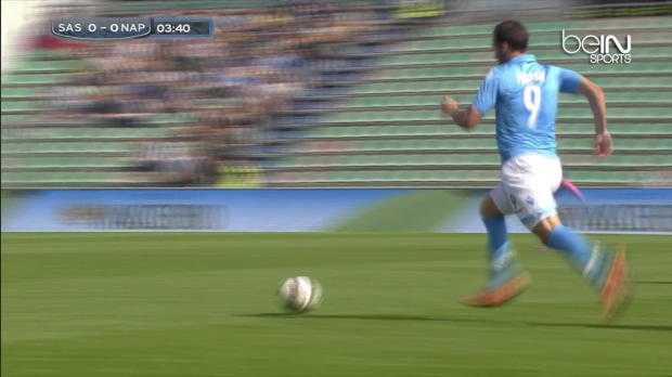 Serie A : Sassuolo 0-1 Naples