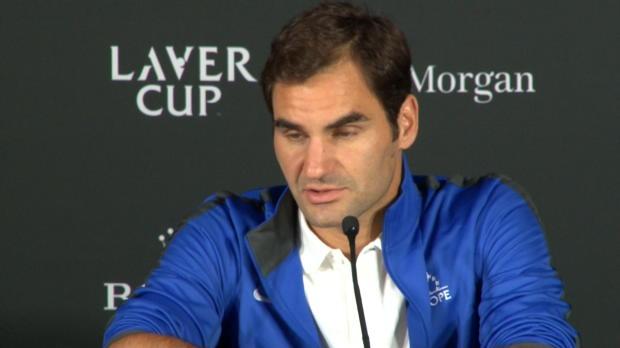 """Basket : Laver Cup - Federer """"excité"""" a l'idée de jouer avec Nadal"""