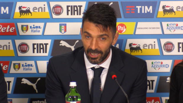 """Italien: Buffon: """"1000 Einsätze tolle Sache"""""""