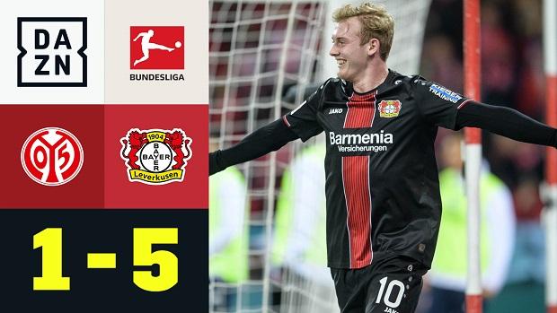 Bundesliga: 1. FSV Mainz 05 - Bayer 04 Leverkusen | DAZN Highlights