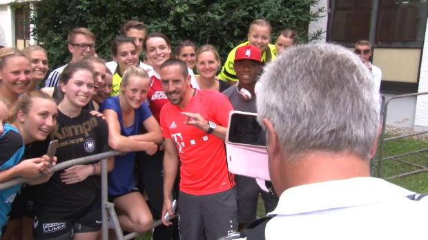 Girly-Selfie-Hype um Ribery und Alaba