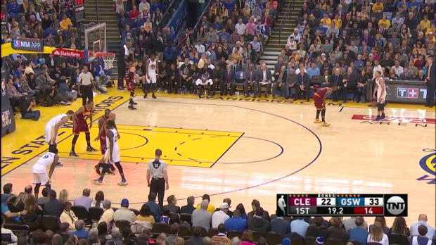 WSC: Highlights: Stephen Curry (20 points) vs. the Cavaliers, 1/16/2017
