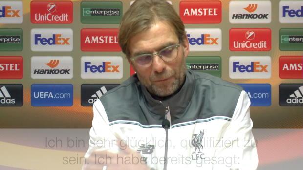 """Reds weiter! Klopp: """"Aus deutscher Sicht..."""""""