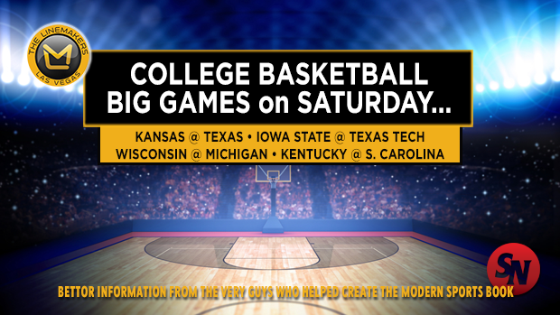 Saturday College Basketball Games