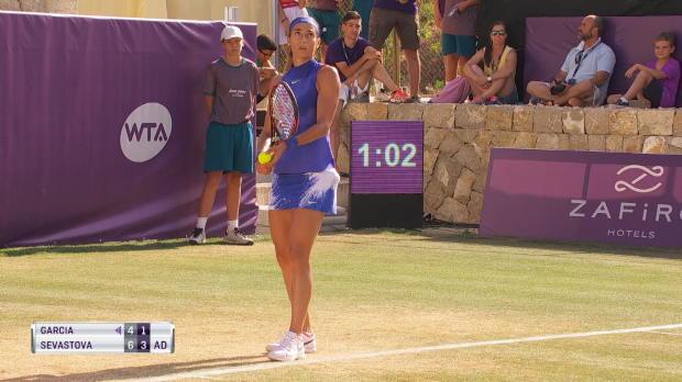 Tennis : Majorque - Garcia éliminée en demi-finale