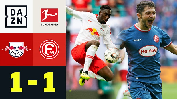 Bundesliga: RB Leipzig - Fortuna Düsseldorf | DAZN Highlights
