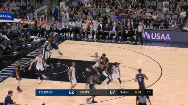 Block of the Night: Manu Ginobili