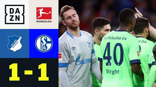 Bundesliga: TSG Hoffenheim - FC Schalke 04 | DAZN Highlights