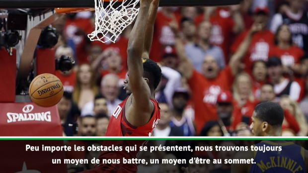 """Basket : NBA - Harden """"fier"""" mais """"frustré"""" après l'élimination de Houston"""