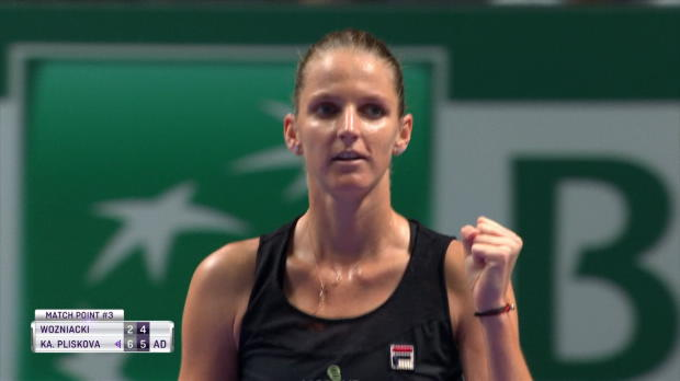 Basket : Masters - Pliskova s'offre Wozniacki