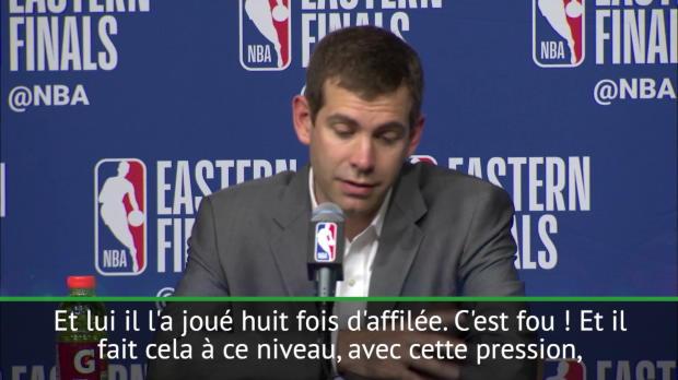 Basket : Celtics - Stevens totalement bluffé par LeBron