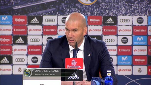 """Zidane: """"Bin glücklich über Bales Rückkehr"""""""