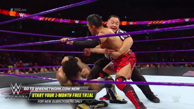 Akira Tozawa vs. Lio Rush: WWE 205 Live, Aug. 14, 2018
