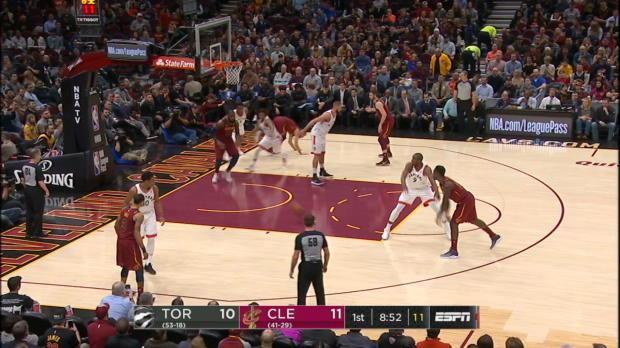 GAME RECAP: Cavaliers 132, Raptors 129
