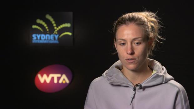 Sydney: Kerber hofft auf Final-Einzug