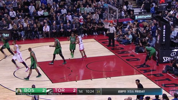 WSC: DeMar DeRozan 43 points vs the Celtics