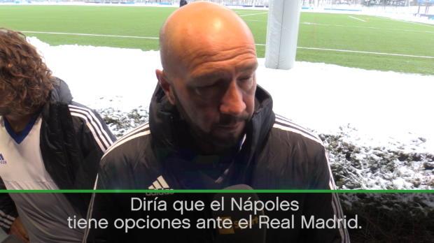 """Zenga: """"El Madrid no ha entendido el valor real del Nápoles en Europa"""""""