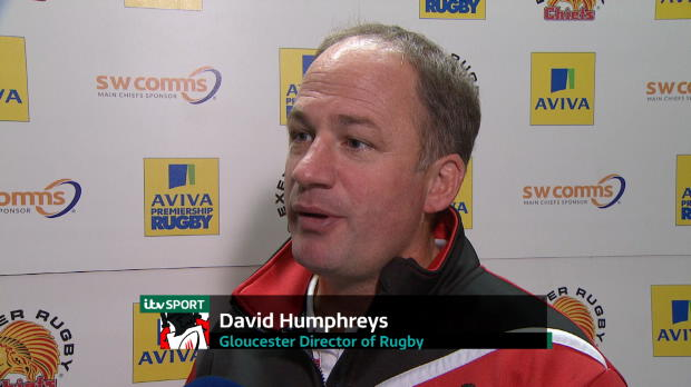 Aviva Premiership - David Humphreys Interview