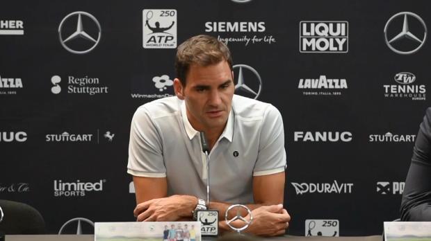 "Stuttgart: Federer: ""Habe große Hoffnung"""