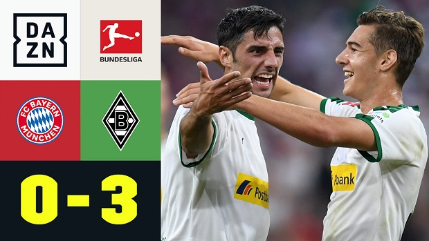 Bundesliga: FC Bayern München - Borussia M'gladbach | DAZN Highlights