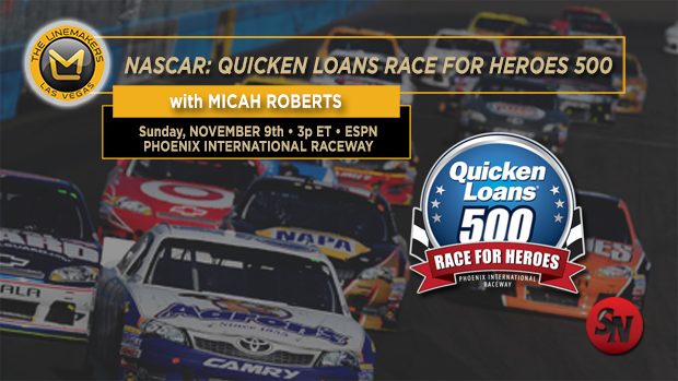 NASCAR Quicken Loans Race for Heroes