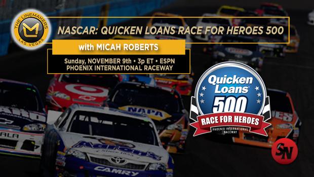 NASCAR Quicken Loans Race for Heroes