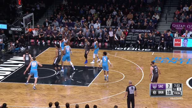 GAME RECAP: Nets 123, Kings 94