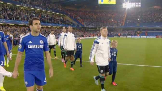 LdC : Chelsea 1-1 Schalke 04