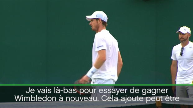 : Wimbledon - Murray se met un peu de pression