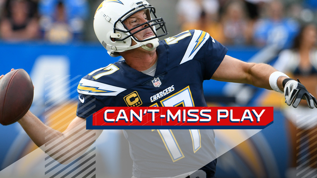 Can't-Miss Play: Philip Rivers launches 75-yard TD pass to Tyrell Williams