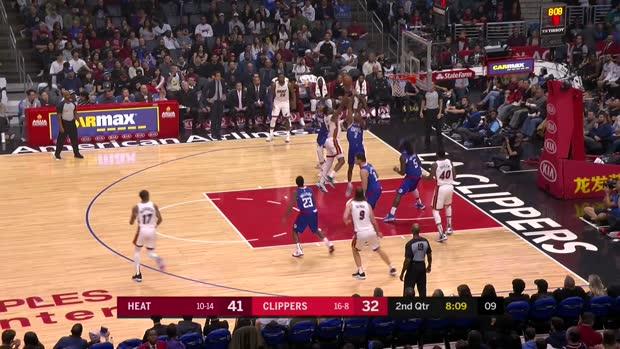 GAME RECAP: Heat 121, Clippers 98