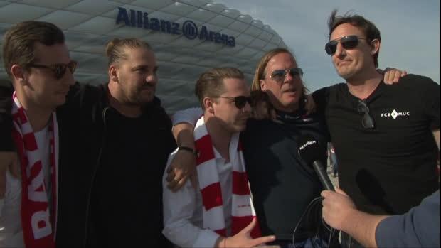 """FCB-Fans stärken Kovac: """"Hat es geil gemacht"""""""