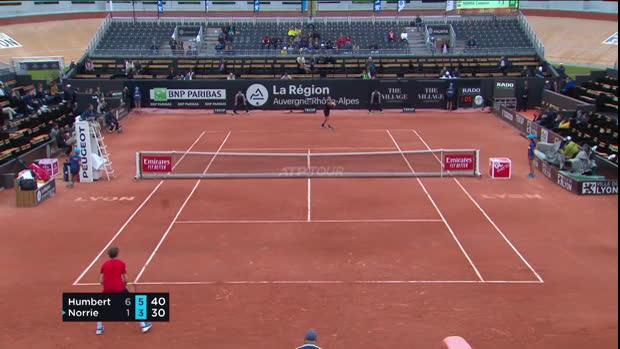 Tennis : OL - Humbert passe le 1er tour
