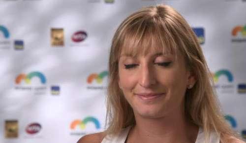 Bacsinszky Interview: WTA Miami 4R