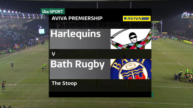 Aviva Premiership - Harlequins V Bath Match Highlights