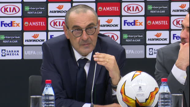 """Sarri: """"Haben Europa League verdient gewonnen"""""""