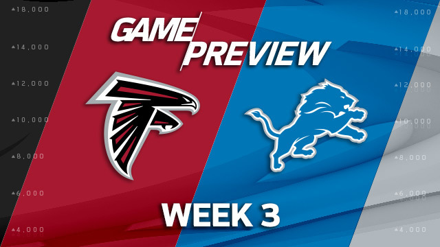 Atlanta Falcons vs. Detroit Lions preview | 'NFL Playbook'