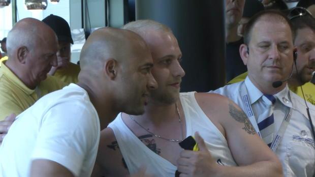 BVB-Legende Dede sorgt für Ansturm in Dortmund