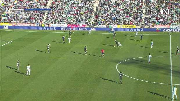 Liga : Cordoba 1-2 Real Madrid