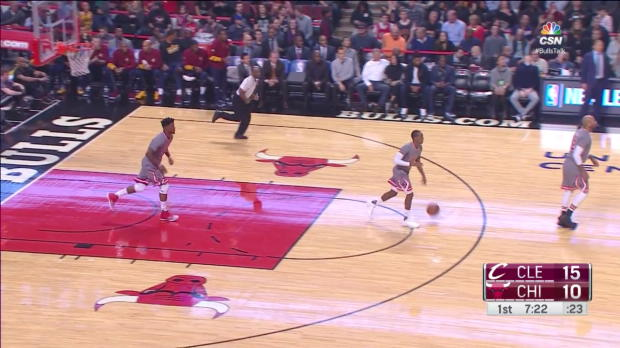 WSC: LeBron James with 27 points vs the Bulls