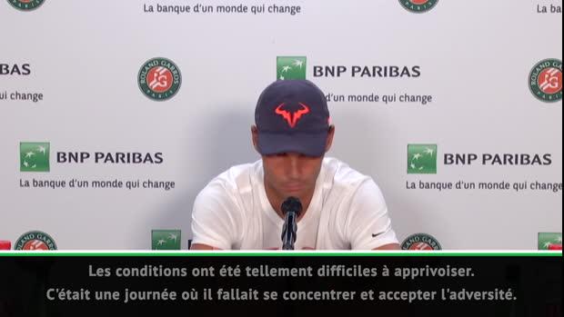 """Basket : Roland-Garros - Nadal - """"Être capable de retrouver ce niveau me rend très fier"""""""